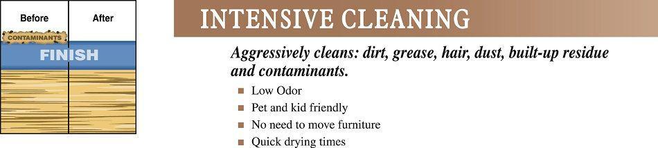 Deep Clean Hardwood Floors