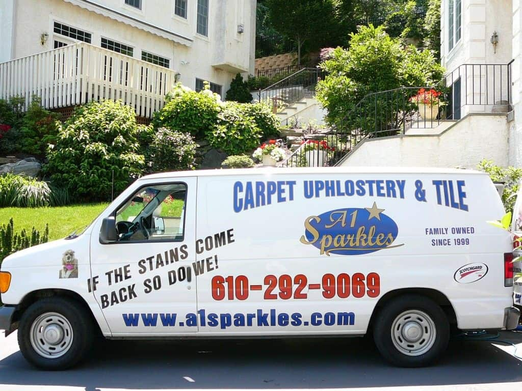 Steam Carpet Cleaning Van