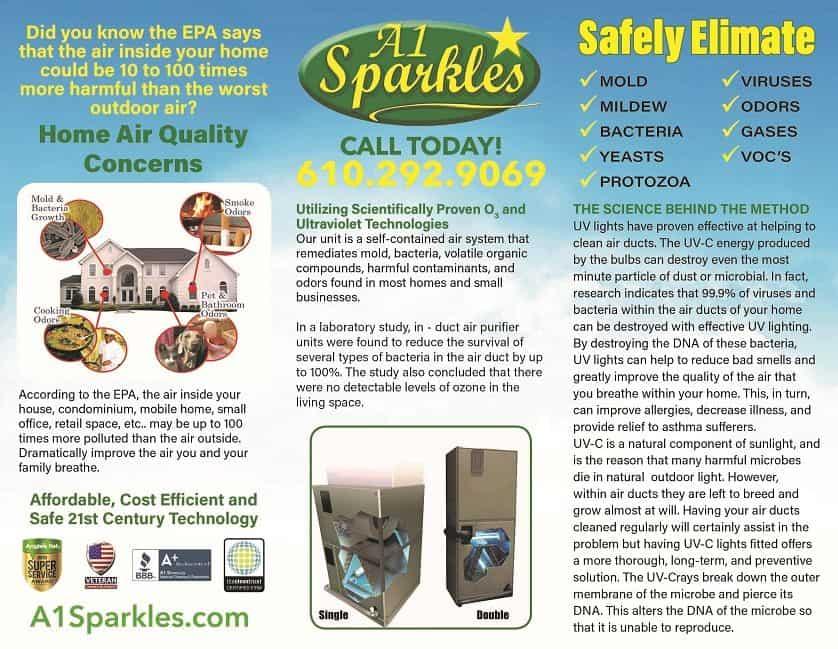 The best home air purifier UV Light Air Cleaner