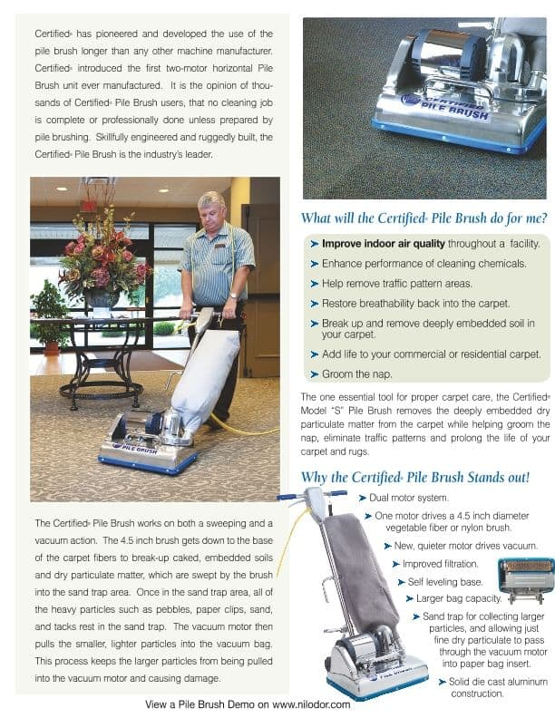 benefits of carpet pile lifter