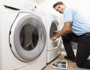 lint removal for dryer vent cleaning
